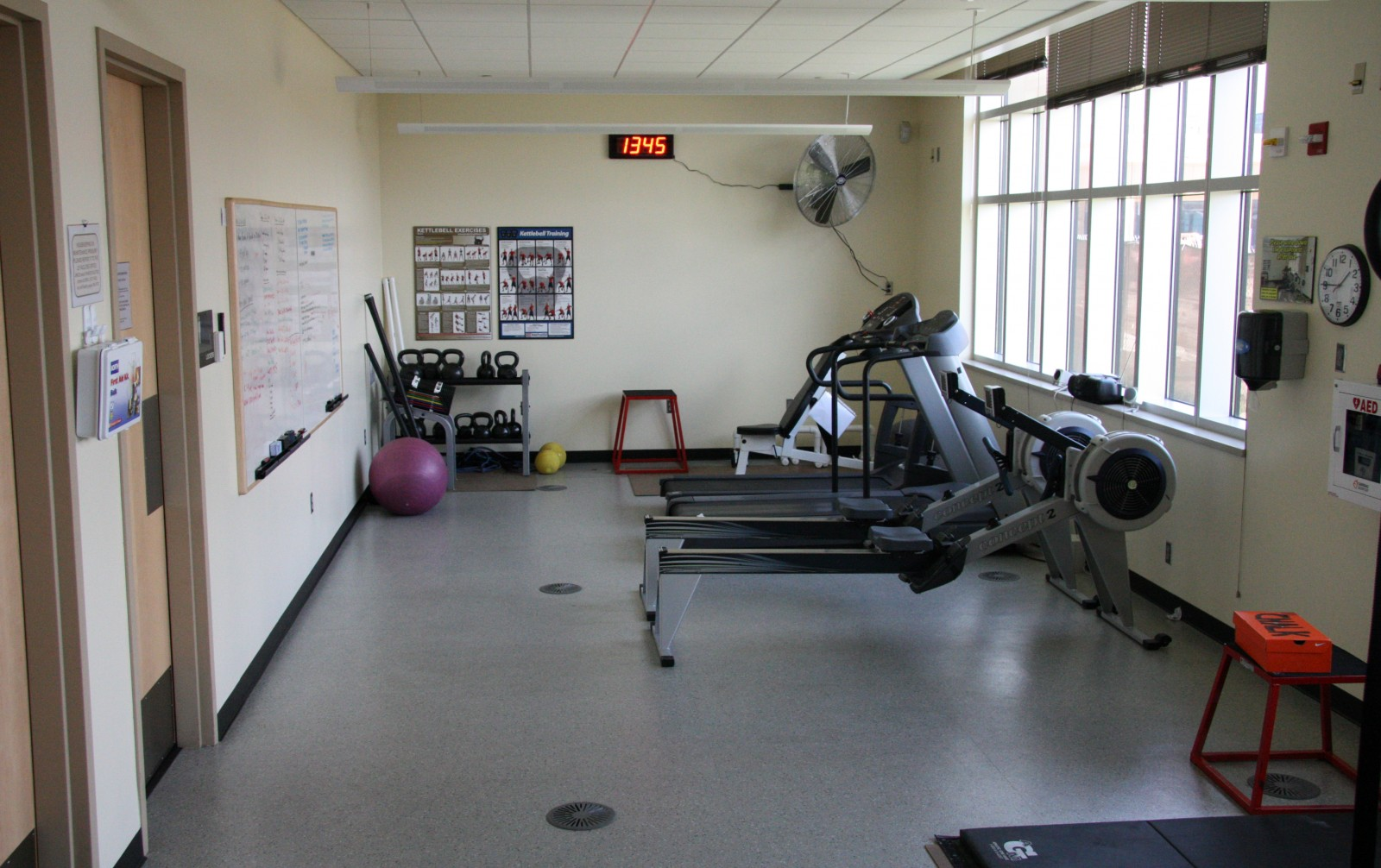 The other half of the gym